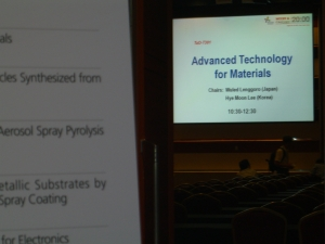 Session at World Congress Chemical Engineering, Seoul
