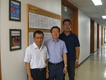 Visited KIGAM in Daejeon, Korea (Aug. 2013)韓国地質資源研究院
