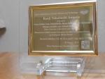 Kanji Takahashi Award (from JAAST) from JAAST.