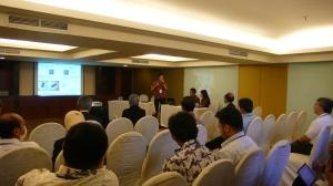 A student presented in Surabaya 2013