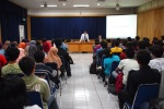 Explanation to around 100 students at ITB (2014)