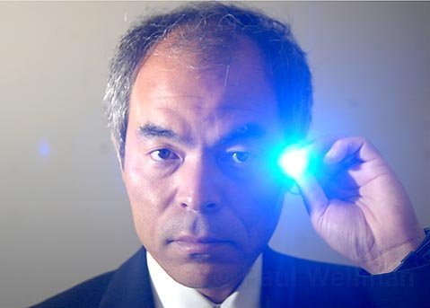 Nobel Prize (Physics) for Shuji Nakamura. He is also a member of our university (TUAT) Administrative Councilors.