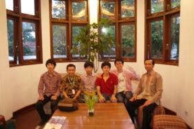 TUAT, AIMS students in Bandung (30 Oct. ) インドネシアに留学中の農工大生(5名)