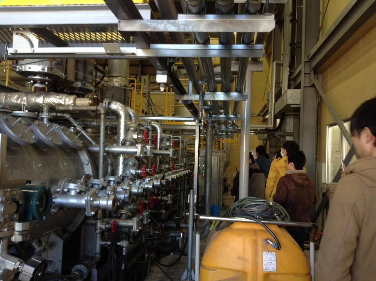 Visited Central Research Institute of Electric Power Industry. 【見学】電力中央研究所